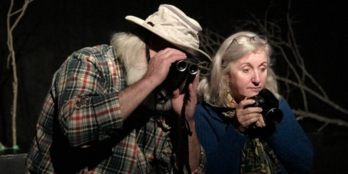 Lee J. Campbell & Sherry Smith in a scene from The Unnatural Disaster Theatre Company production of Forest Town. Photo by Logan Robins.