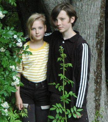 Brother and sister team Della and Theo Crocker took home the best film award by a filmmaker twelve years or younger for their short Forest Keys.