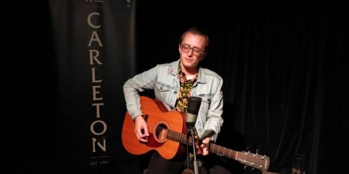 Live at The Carleton with Matt Steele. Photo by David Hannigan.