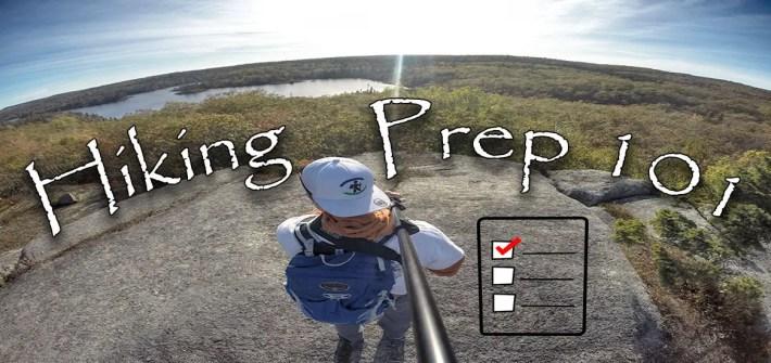 hiking preparation