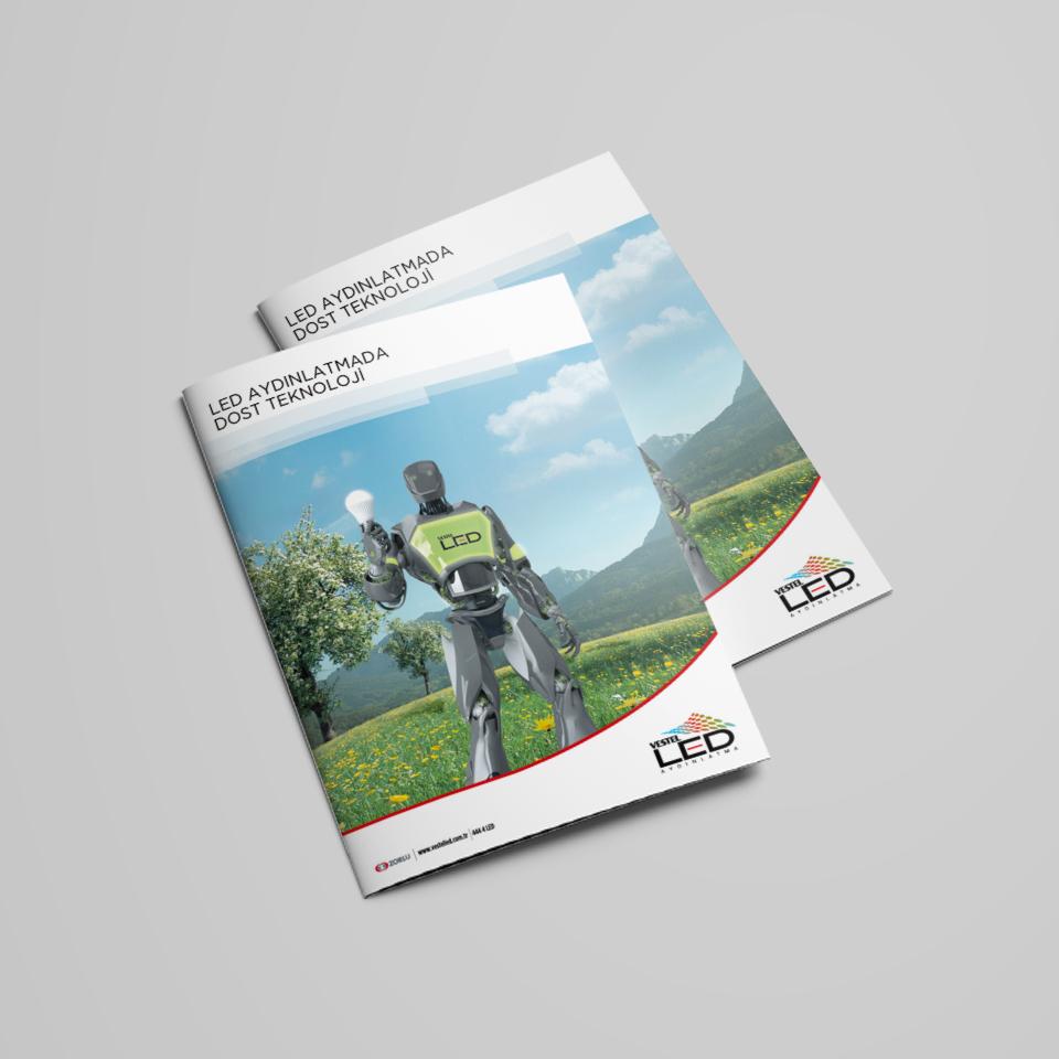 LED Lighting Brochure Design