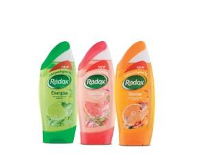 Radox shower gels