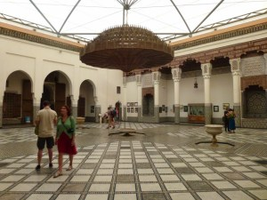 The museum of Marrakech