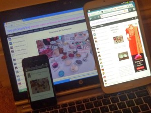 HalimaBobs on laptop, tablet and iPhone