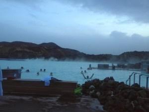 The Blue Lagoon in Reykjavik Iceland