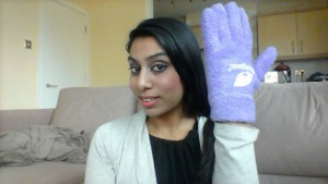 Dr Organic Lavender gloves