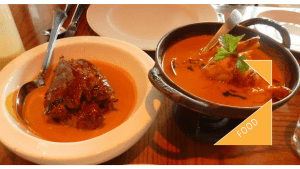 Prawn curry and braised lamb at Veeraswamy