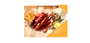 Lobster and fries from Burger & Lobster