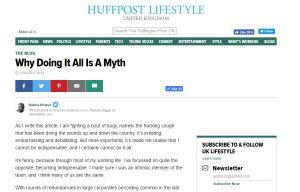 Huffington Post blog post from HalimaBobs