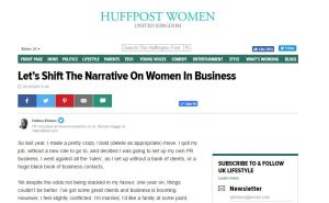 HalimaBobs blog post on Huffington Post