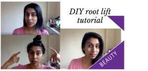 Root lift hair tutorial