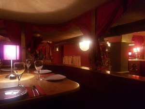 The opera style interior at TWID restaurant