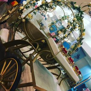 Princess carriage at the Tea Terrace House of Fraser