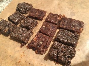 Chia seed energy bars
