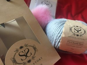 Stitch and Story wool and bobble kit