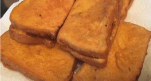 Deep fried Masala potato sandwiches