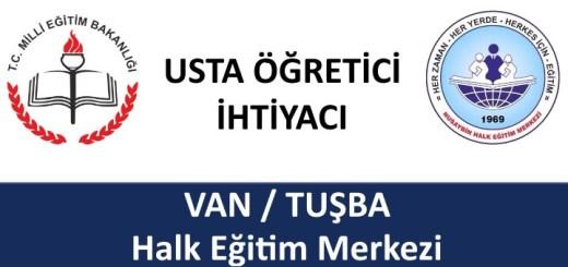 VAN-TUŞBA-Usta-Öğretici-İhtiyacı