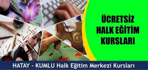 HATAY-KUMLU-Halk-Eğitim-Merkezi-Kursları