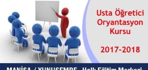 manisa-yunusemre-usta-ogretici-oryantasyon-kursu-2017-2018