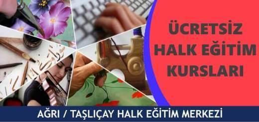 AĞRI-TAŞLIÇAY-Halk-Eğitim-Merkezi-Kursları