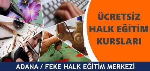 ADANA-FEKE-Halk-Eğitim-Merkezi-Kursları