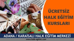 ADANA-KARAİSALI-Halk-Eğitim-Merkezi-Kursları