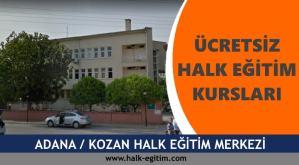 ADANA-KOZAN-Halk-Eğitim-Merkezi-Kursları