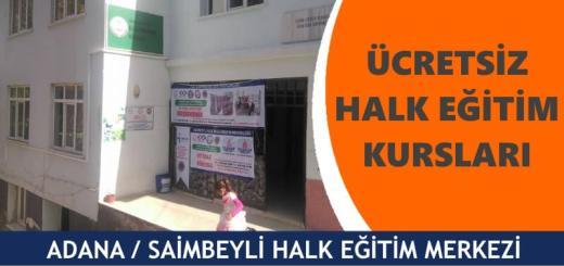 ADANA-SAİMBEYLİ-Halk-Eğitim-Merkezi-Kursları
