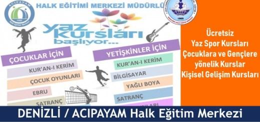 DENİZLİ-ACIPAYAM-Halk-Eğitim-Merkezi-Yaz-Kursları