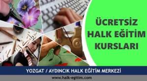 YOZGAT-AYDINCIK-Halk-Eğitim-Merkezi-Kursları