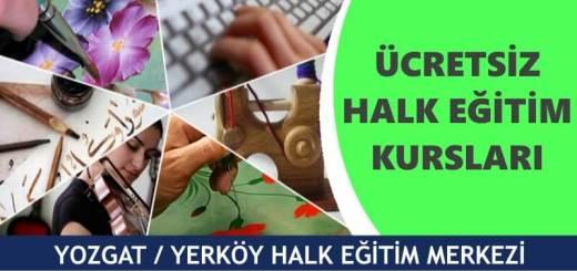 YOZGAT-YERKÖY-Halk-Eğitim-Merkezi-Kursları