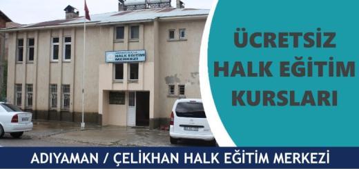 ADIYAMAN-ÇELİKHAN-Halk-Eğitim-Merkezi-Kursları