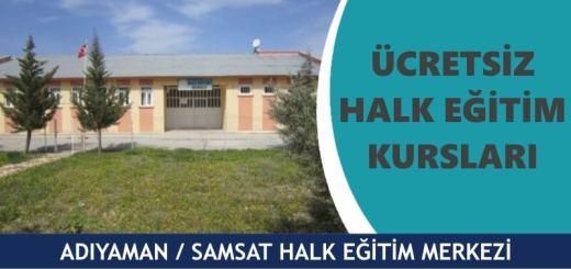 ADIYAMAN-SAMSAT-Halk-Eğitim-Merkezi-Kursları