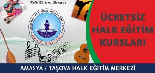 AMASYA-TAŞOVA-Halk-Eğitim-Merkezi-Kursları