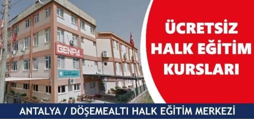 ANTALYA-DÖŞEMEALTI-Halk-Eğitim-Merkezi-Kursları