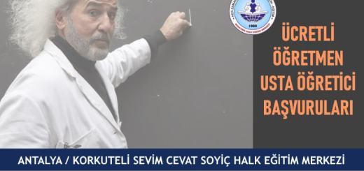 ANTALYA-KORKUTELİ-Sevim-Cevat-Soyiç-Halk-Eğitim-Merkezi-Ücretli-Öğretmen-Usta-Öğretici-Başvuruları