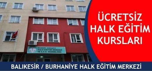 BALIKESİR-BURHANİYE-ücretsiz-halk-eğitim-merkezi-kursları