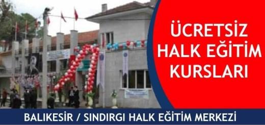 BALIKESİR-SINDIRGI-ücretsiz-halk-eğitim-merkezi-kursları