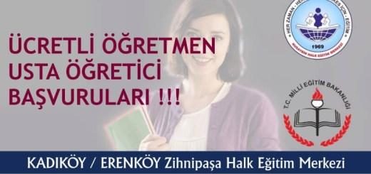 istanbul-kadikoy-erenkoy-zihnipasa-hem-ucretli-ogretmen-usta-ogretici-basvurulari