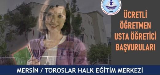 MERSİN-TOROSLAR-halk-eğitim-merkezi-ucretli-ogretmen-usta-ogretici-basvurulari