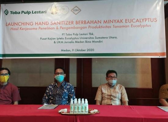 UKM Jurnalis Bina Mandiri Akan Tanam Bibit Eucalyptus dan Serahkan Hand Sanitizer di Penutupan TMMD Kodim 0201/BS