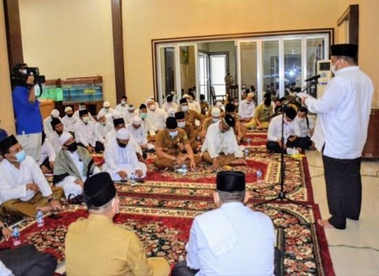 Do'akan Terbit Rencana PA. Silaturahim Bupati Langkat dengan Tuan Guru Babussalam serta Ulama