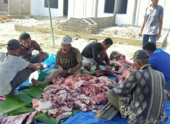 TSP Bagikan 330 Paket Daging Qurban kepada Masyarakat