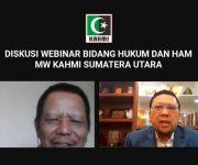 KAHMI Sumut Gelar Webinar Tanah Untuk Rakyat : Penyelesaian Konflik Tanah di Sumatera Utara