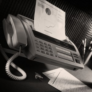 Fax Machines - out of date and insecure - do not use for sensitive data