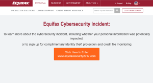 Equifax - Needed good threat hunting