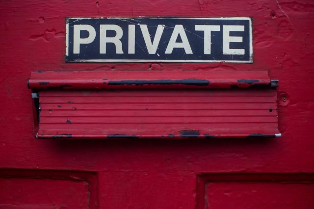 signe privé