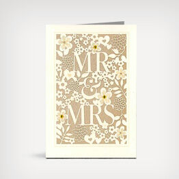 You And Me Anniversary Card