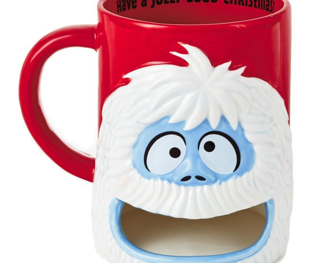 Rudolph The Red Nosed Reindeer Bumble Milk And Cookie Mug