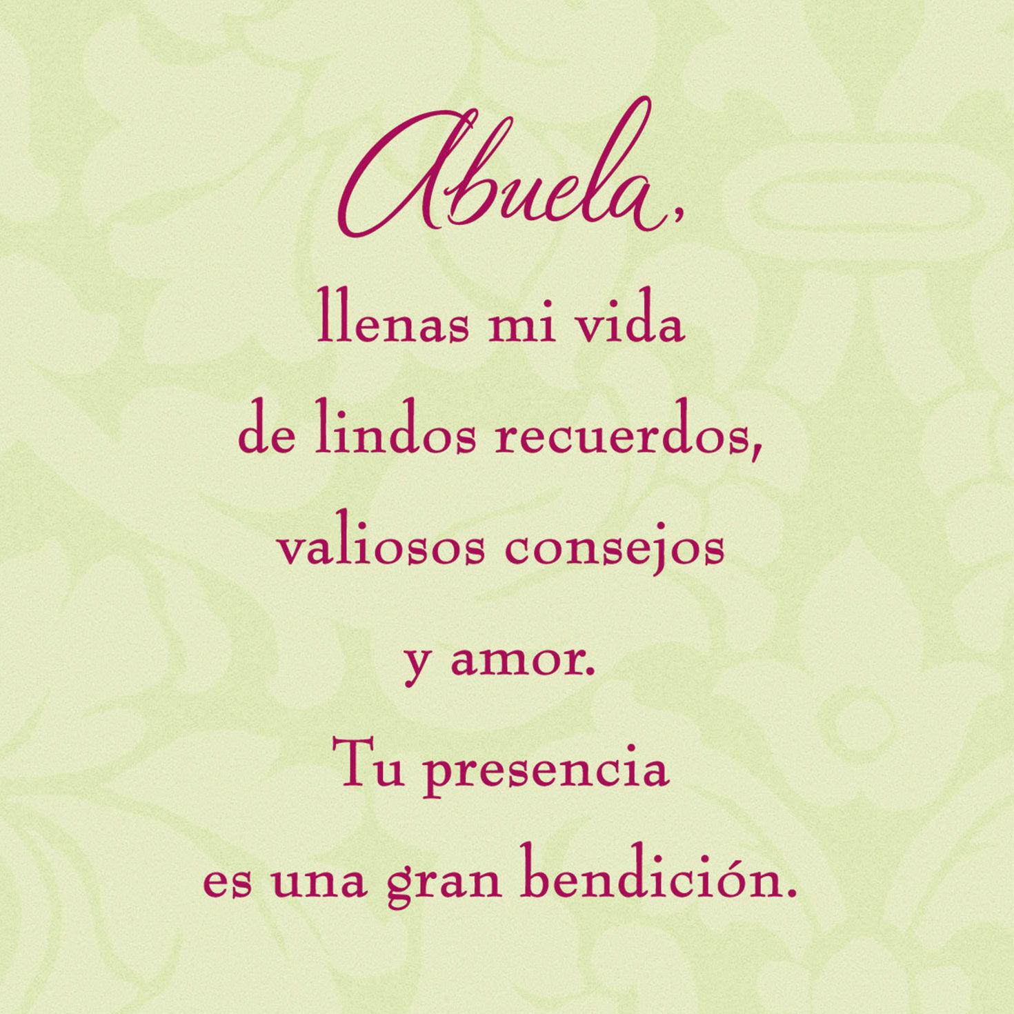Labace Happy Birthday Grandma Quotes Spanish